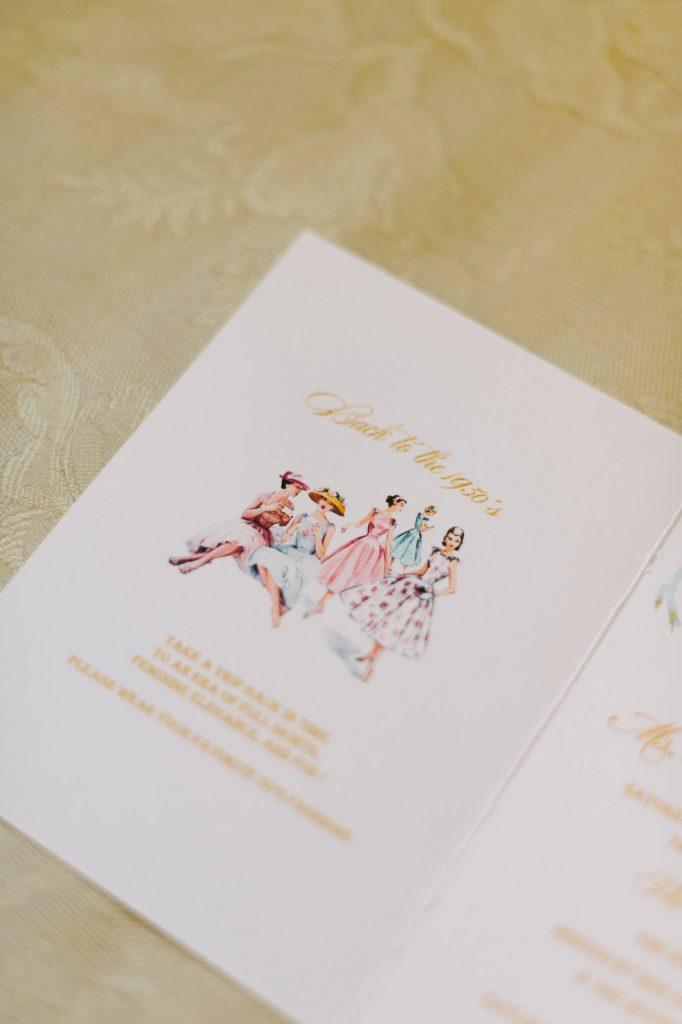 stationery for bridal shower