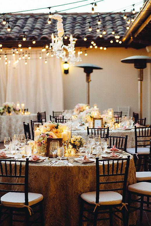 ballroom terrace wedding reception bacara santa barbara
