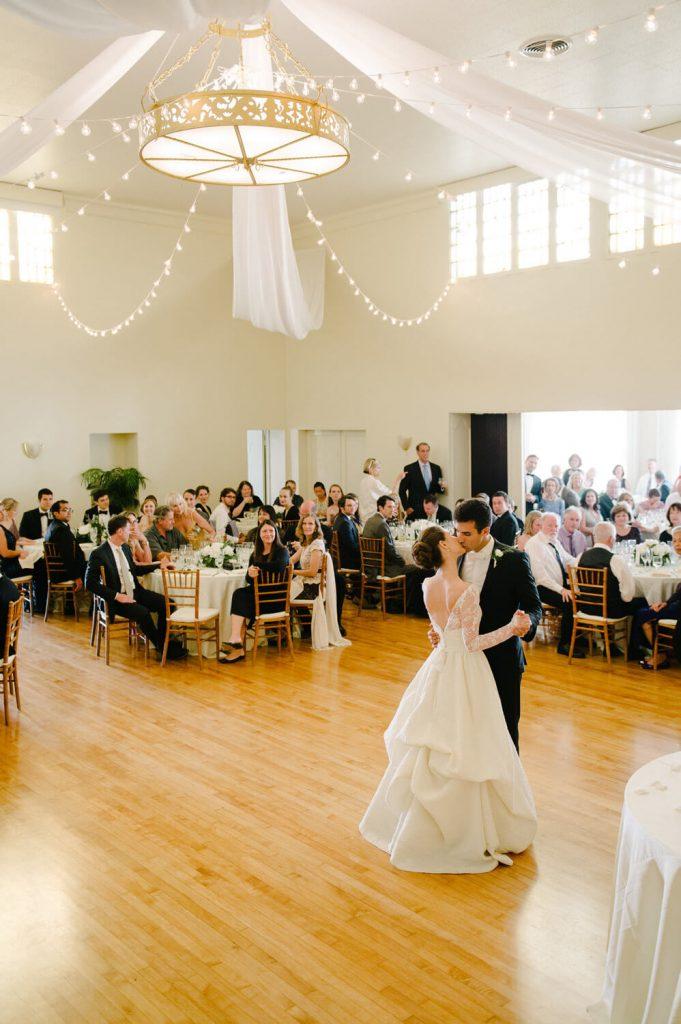 bride groom first dance womens club la jolla wedding