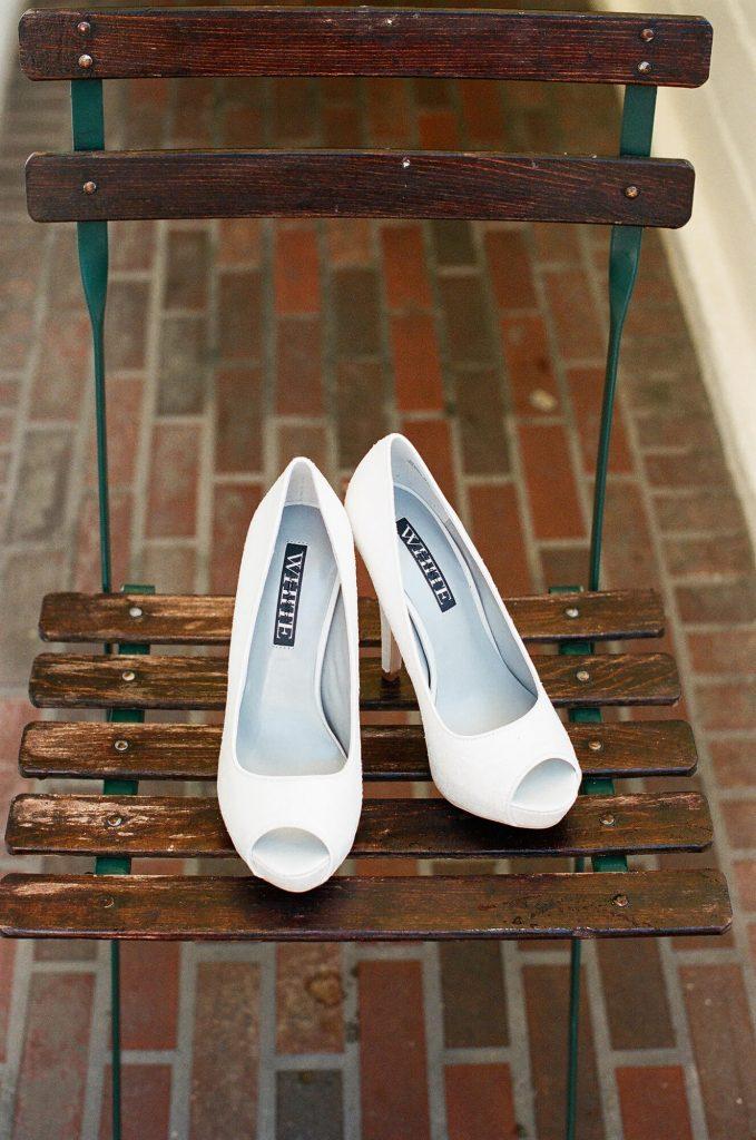 vera wang white bridal shoes