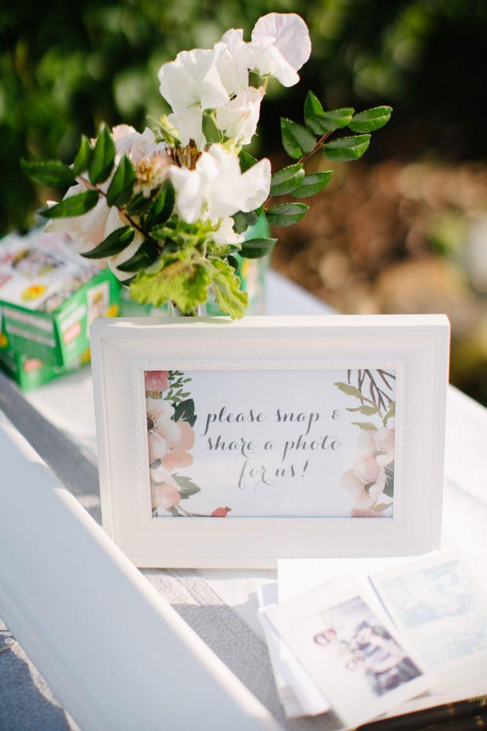 wedding decor for photo booth
