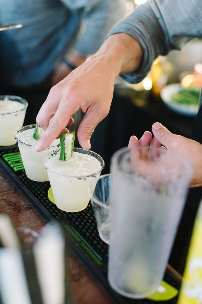 signature cocktail st malo beach wedding