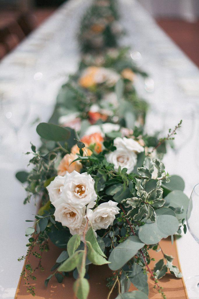 floral centerpieces garden wedding darlington house