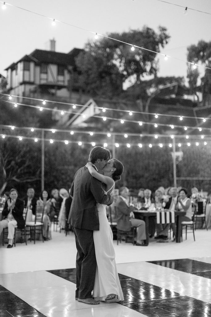 bride and groom first dance st malo wedding