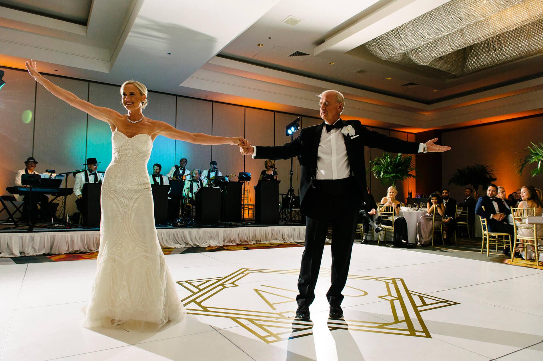 best father daughter dance moment hilton la jolla torrey pines wedding