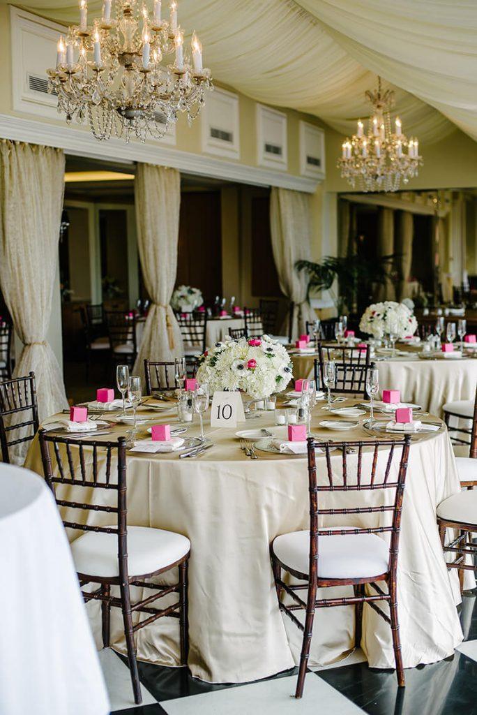 wedding decor verandah room la valencia hotel la jolla