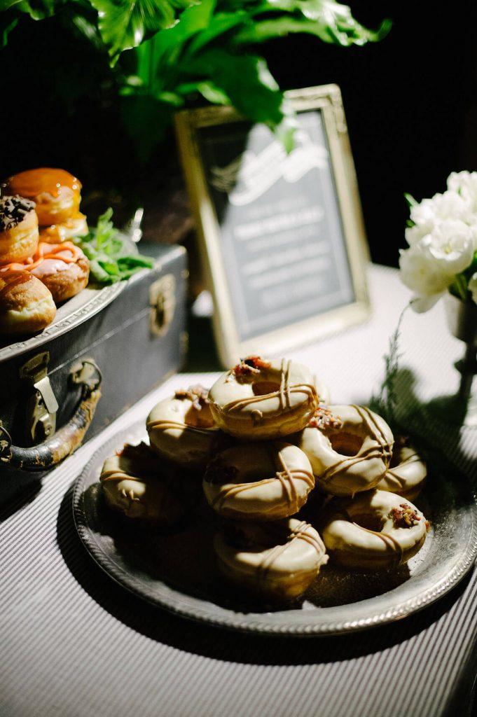 donuts at dessert bar hotel del coronado