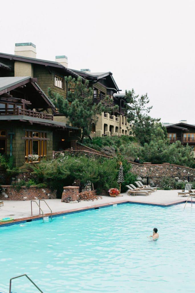 pool and rear exterior lodge torrey pines la jolla