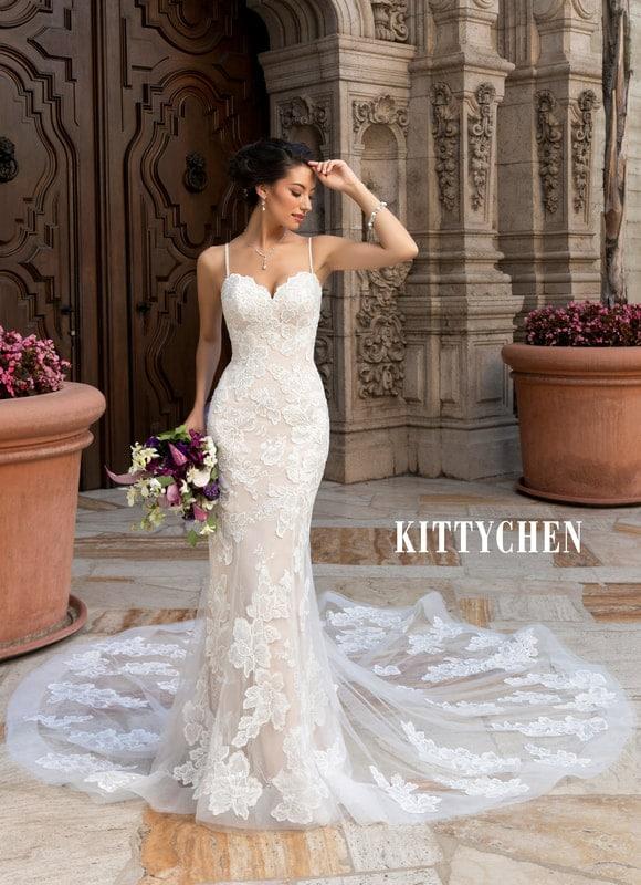 kitty chen wedding gown